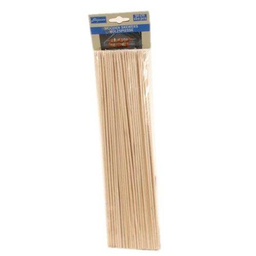 100 Stück Holzspieße, Holz Spieße 30cm, CUISINE ELEGANCE, BE-95411