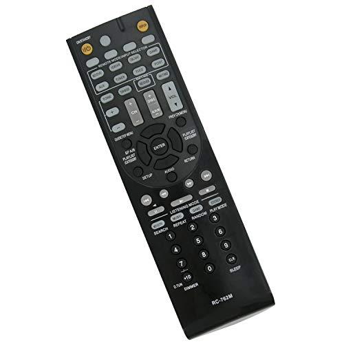 VINABTY RC-762M Ersatz Fernbedienung für Onkyo AV Receiver AVX280 AVX290 HTR280 HTR290 HTR380 HTR390 HTR538 HTRC230 HTS3300 HTS3400 HTS3400B HTS5305 SKC-380C SKF-380R SKR-380L TXSR308 HT-S3405 Remote