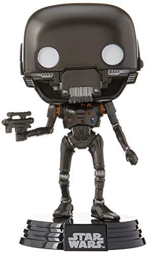 Funko - Figurine Star Wars Rogue One - K-2SO Battle Damaged Exclu Pop 10cm - 0889698148757