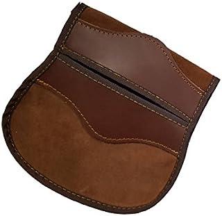 CAZA Y AVENTURA Una Bolsa Ojeo-Bolsa Portacartuchos en Serraje, con Enganche para Llevar en el cinturón. para 40 Cartuchos