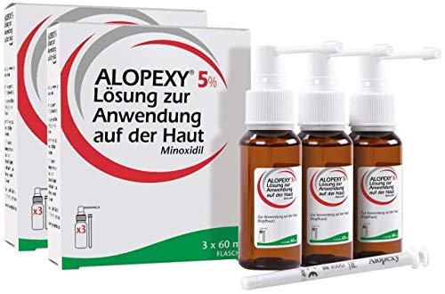 Alopexy 5% Lösung zur Anwendung auf der Haut 6 x 60 ml