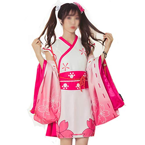 Volwassen COSPLAY Kostuums, Nieuwe Anime Stage Kleding Bloemen Hoofddeksels + Rok + Mouw + Tailleband + Bow With Bell