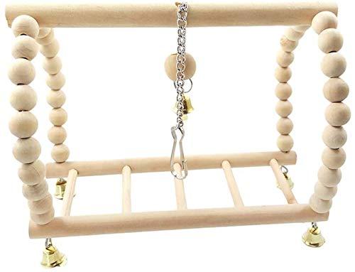 CNMYDZ Loro Juguete Colgando Puente Loro Columpio Loro Suspensión Puente Escaleras Columpio Suministros De Aves Fuentes De Aves Regalos para Mascotas