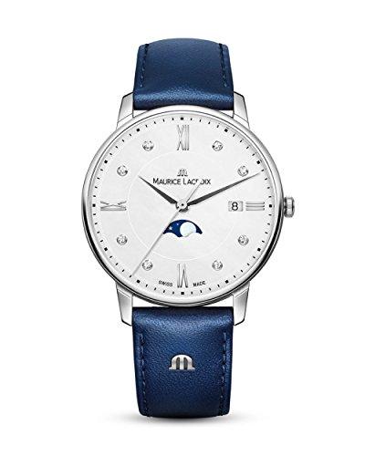 MAURICE LACROIX Schweizer Uhr Eliros Moonphase EL1096-SS001-150-1