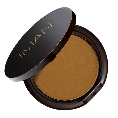 IMAN Cosmetics Second To None Luminous Foundation, Dark Skin, Earth 1