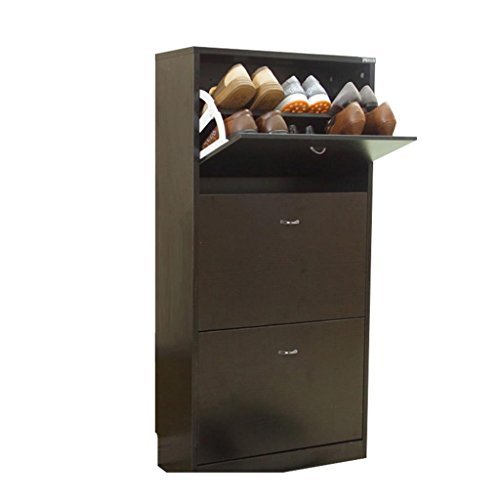 Garneer Europese stijl Eenvoudige Moderne Dumping Ultradunne Grote capaciteit Schoenenrek Hal Kast (breed 60cm * Diep 24cm * Hoog 108cm) -door BOBE SHOP
