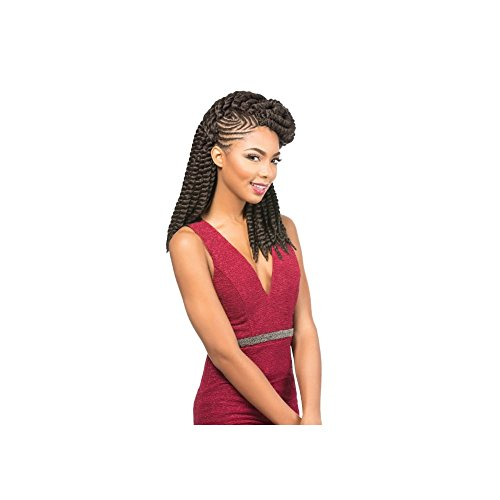 'sensationnel African Collection – Rumba Twist 12 (30 cm) élégant en cheveux synthétiques Tresses (Bulk)