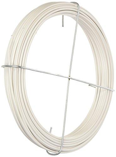 Corderie Italiane 006002796 Filo Ferro Plastica, Bianco, 2.7 mm, 20 m