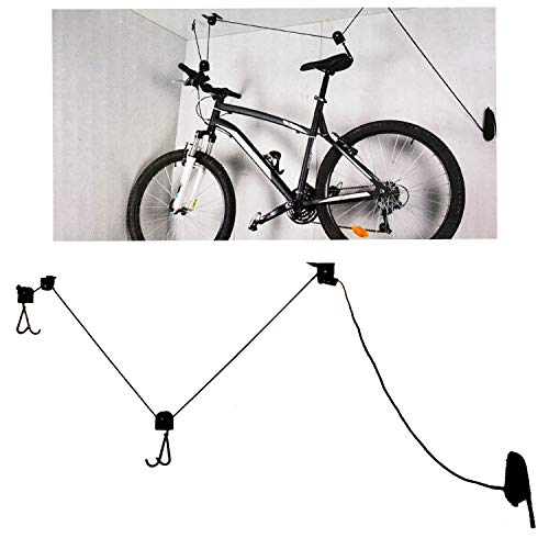 Dunlop Sport Unisex Adult Bicycle Hanger Black 15m