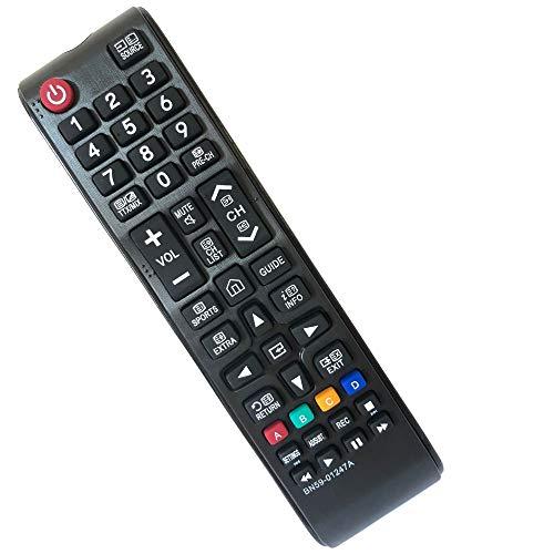 Mando TV Samsung Reemplazo BN59-01247A Ajuste para Mando a Distancia Samsung para Mando Samsung TV Universal