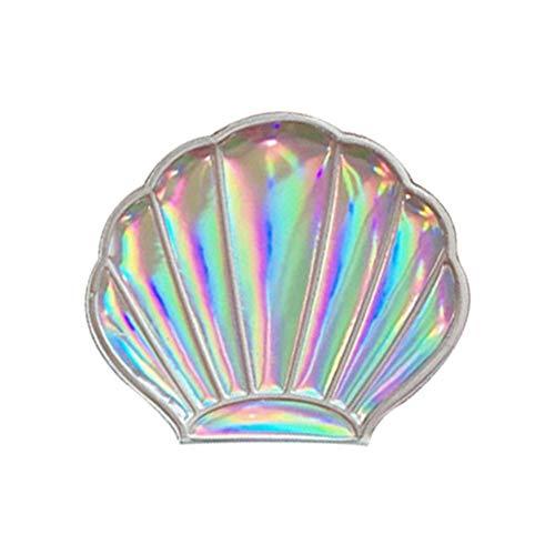 Special&Kind notable Rêve Laser Couleur Fille Coeur Bling Shell Fée Miroir Peut transporter Miroir Maquillage Accessoires