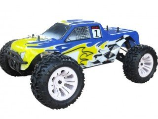 VRX Monster Truck Blade TS 1/10 off Road con Motore a Scoppio Go.18 a Due Marce Radio 2.4 GHz 4WD RTR RH1002M