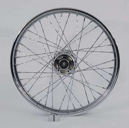 V-Twin Manufacturing Chrome Max 79% OFF NEW before selling Twisted Spoke x 21 Front 2.15 Wheel