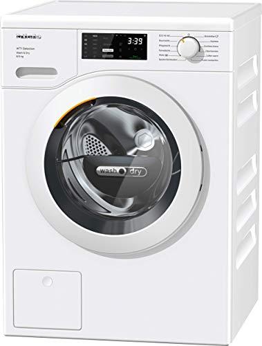 Miele Waschtrockner WTD 163 WCS / 8 kg Waschen / 5 kg Trocknen/Schontrommel/bis zu 1500 U/min/AddLoad/DirectSensor Bedienung/Frontlader/Weiß/EEK A