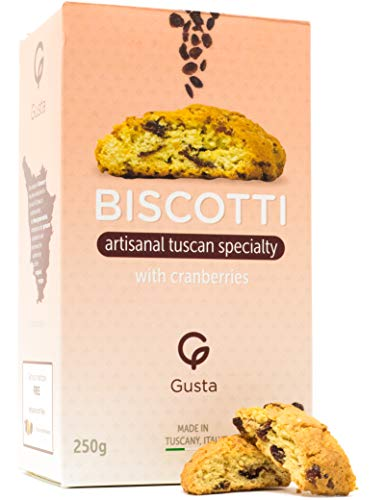 Gusta Authentic Soft Biscotti Cookies Made in...