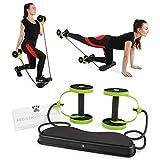 Tora Fitness - Máquina de entrenamiento para el hogar con banda de resistencia, 40 en 1, entrenamiento de cuerpo completo, compacto y portátil