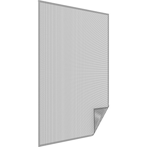 easy life Malla mostiquera anti-polen ALLERGICpro para ventanas 130 x 150 cm - Mosquitera en blanco con cinta adhesiva
