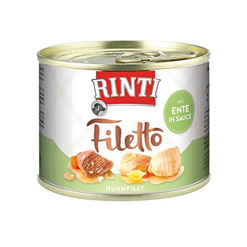 Finnern Rinti Filetto Huhn & Ente in Sauce 210g Dose