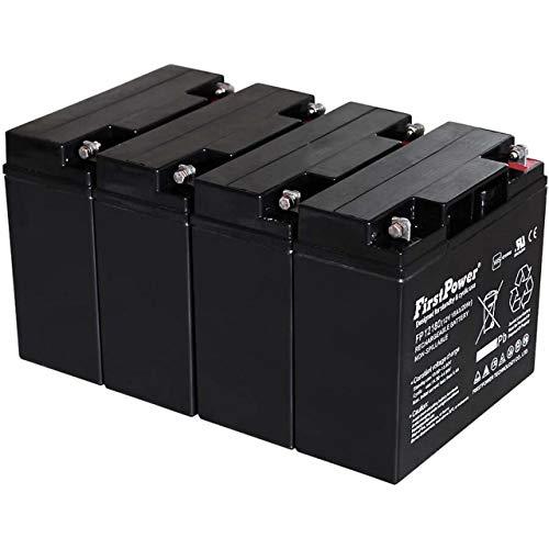 Powery FirstPower Batería de Gel para SAI APC RBC55 12V 18Ah VDS