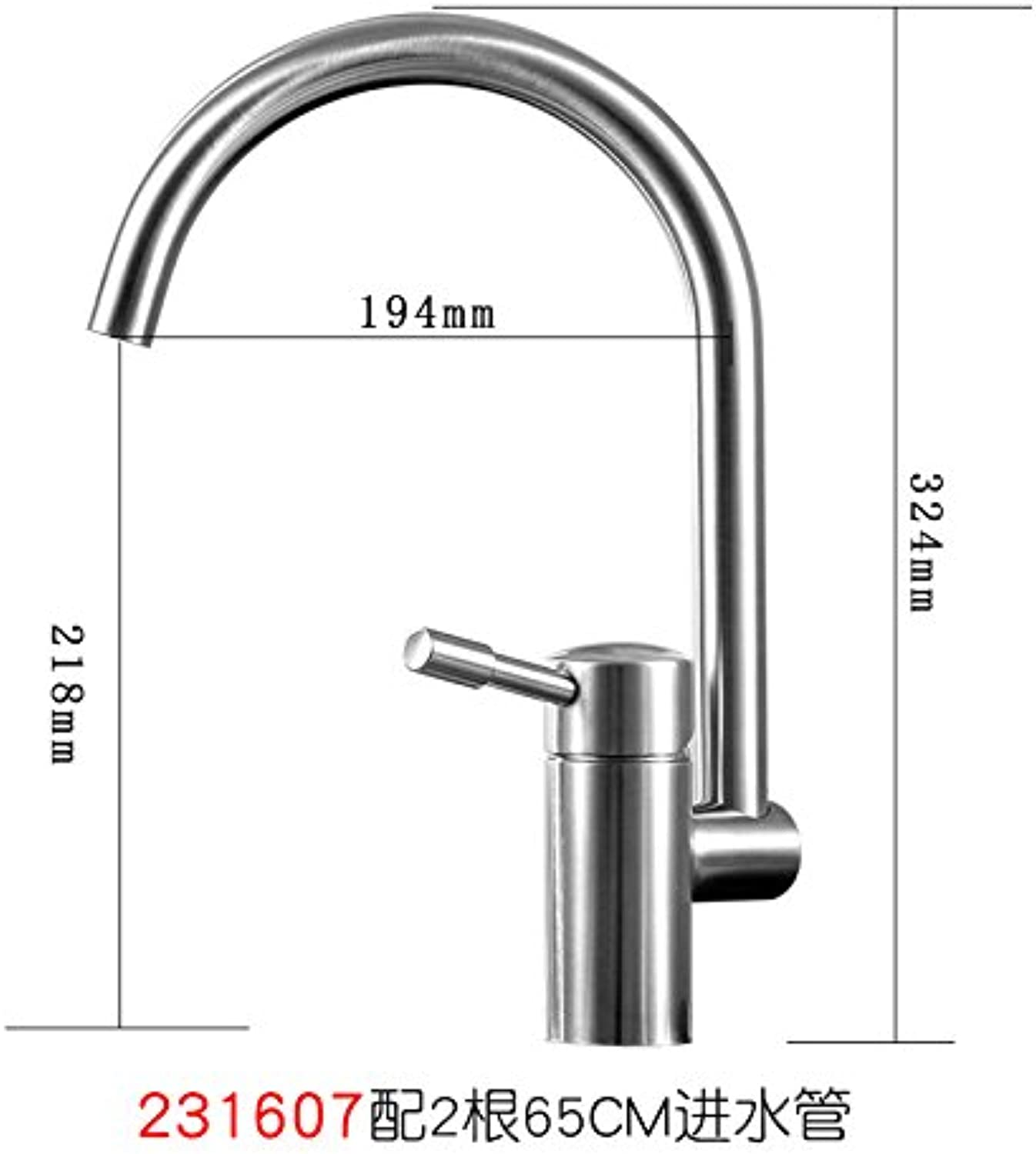 Lpophy Bathroom Sink Mixer Taps Faucet Bath Waterfall Cold and Hot Water Tap for Washroom Bathroom and Kitchen 304 Stainless Steel Hot and Cold redatable B