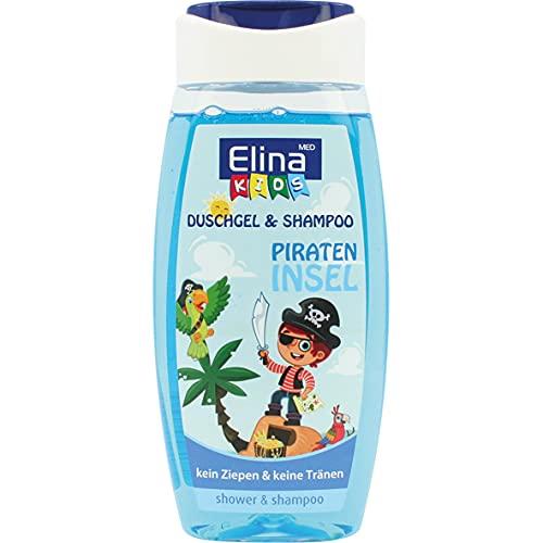 Elina med Gel douche et shampoing pour enfant - Île pirate
