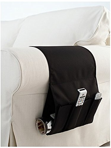 IKEA Flort Remote Control Holder Armchair Pocket Organiser 3D glasses Black by Ikea