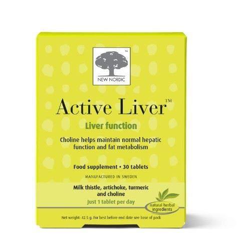 New Nordic | Active Liver Tablets | 2 x 30s (DE)
