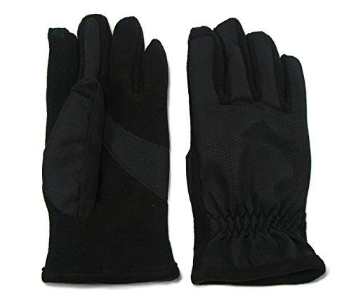 Isotoner Men's Matrix Smartouch Technology Glove Black (X Small)