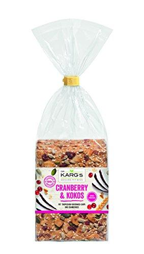 Knäcke Cranberry & Kokos 200 g Beutel Dr. Karg
