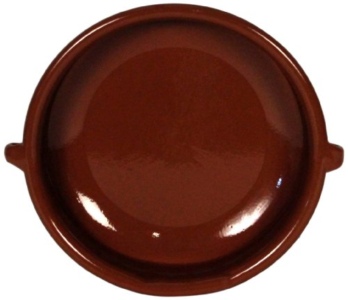 Amazing Cookware - Piatto Rotondo in Terracotta Naturale 23 cm