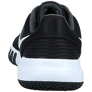 Nike Men's Flex Control TR4 Cross Trainer, Black/White-Dark Smoke Grey-Smoke Grey, 10.5 Regular US