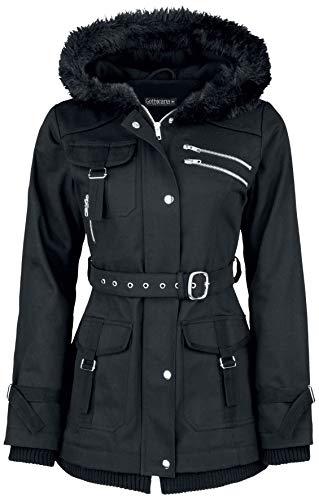 Gothicana by EMP Multi Pocket Jacket Frauen Winterjacke schwarz XL