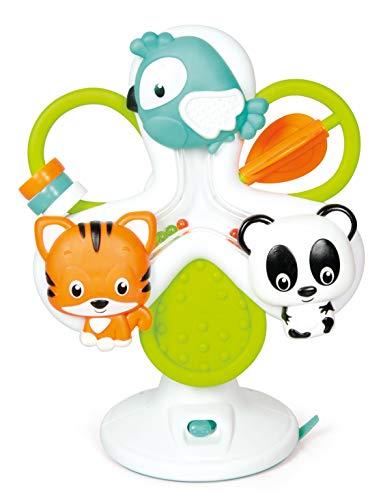 Baby Clementoni - 17261 - Giostra Degli Animali - Gioco Prima Infanzia - Giocattolo Elettronico (Batterie Incluse), Bambini 6 - 36 Mesi, Italiano