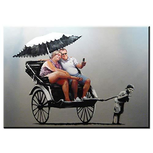 Kinderwagen 1 Stuk Modern Home Decor HD Muurposters voor Woonkamer Graffiti Canvas Prints Schilderij Slaapkamer Foto's -60x90cm Geen Frame