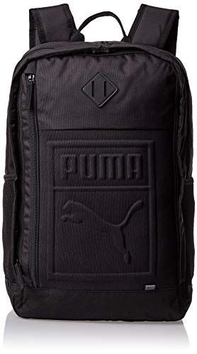 PUMA S Backpack Rucksack, Black, OSFA
