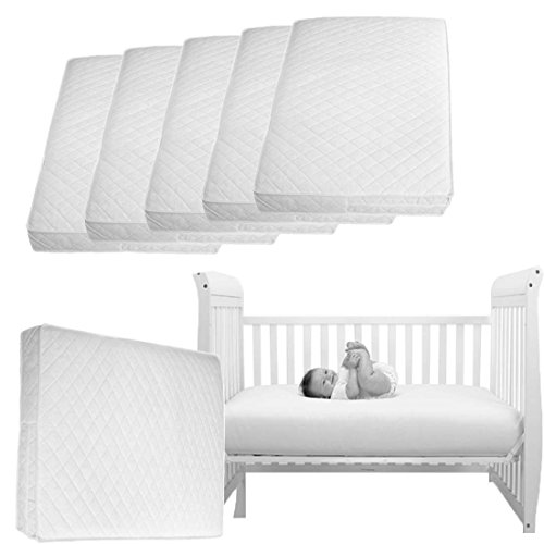 Superior Deluxe Cot Bed-Junior Bed Zi Mattress 140x70CM Thick British Made...