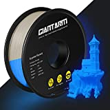 GIANTARM PLA Filamento 1,75 mm azul Luminous PLA impresora 3D, 1 kg Spool