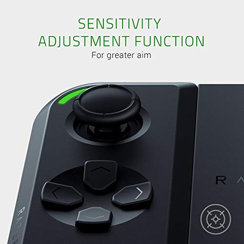 Razer Junglecat: Mobiler doppelseitiger Gaming-Controller für Android (Modulares Design, Mobile Gamepad App, Bluetooth mit niedrigen Latenzen) für Razer Phone 2,Huawei P30 Pro und Samsung Galaxy S10+ - 8