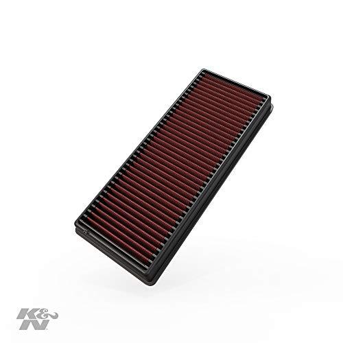 K&N 33-2417 Motorluftfilter: Hochleistung, Prämie, Abwaschbar, Ersatzfilter, Erhöhte Leistung, 2007-2015 (Fortwo, Cabrio II)