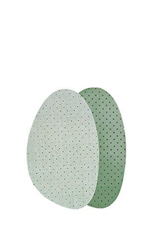 Kaps Soft Latex Einlegesohlen – 2x Halbsohle aus bequemer Baumwolle & Latex – halbe Einlegesohlen, unauffällig und feuchtigkeitsabsorbierend – gegen Reibung & Blasen in Heels & Stiefeln (39-40 EUR)
