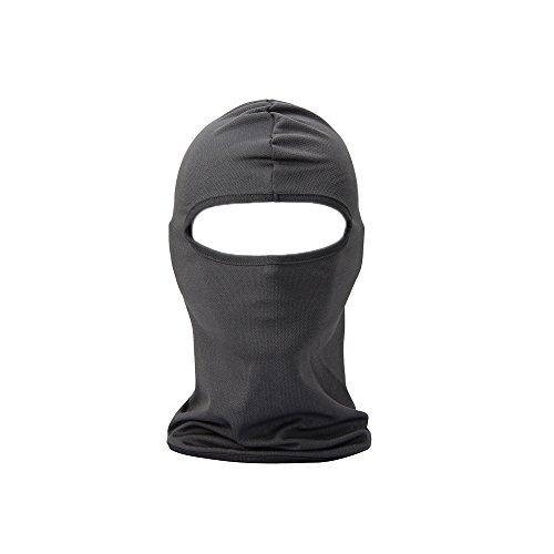 UTOVME Multifunktionen Gesichtsmaske Gesichtschutz Maske Warm Fahrrad Ski Snowboard Sport Grau