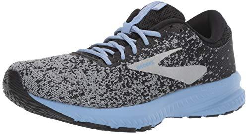 Brooks Launch 6, Chaussures de Running Femme, Noir (Black/Primer/Bel Air Blue 032),...