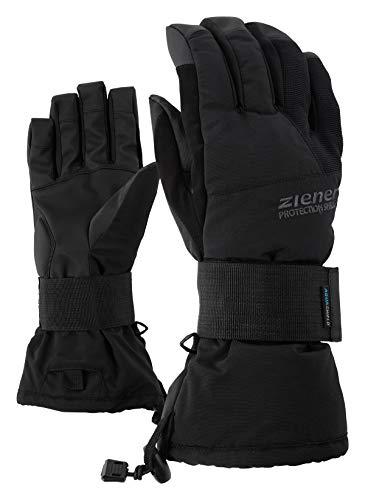 Ziener Erwachsene MERFOS AS glove SB Snowboard-Handschuhe / Wintersport | wasserdicht, atmungsaktiv, , schwarz (black), 7.5