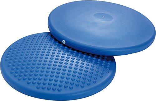 Sitzkissen Disc´o Sit Junior oder Erwachsene, GYMNIC Balancekissen, Noppenkissen Kissen mit Luft, Sitzball, Gymnastikkissen, Gymnastikball (Disc´o Sit Standard Ø 39cm)