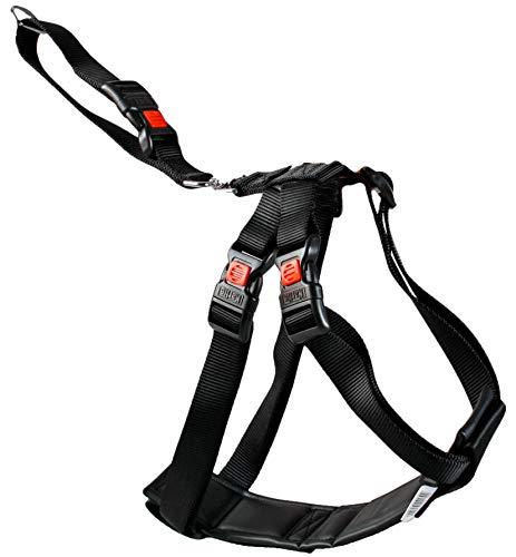 Karlie Autosicherheitsgeschirr, Größe S, 33-50 cm, schwarz