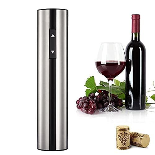 XHJL Sacacorchos abrebotellas de Vino automático eléctrico 4 en 1 Sacacorchos de Vino Recargables USB con Cortador de Papel, tapón de Vino al vacío y aireador Regalo para Amantes del Vino