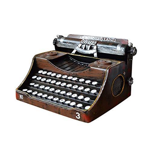 Maniny Retro Schreibmaschine Vintage Typewriter Zeigen Sie Requisiten An die Handgefertigte Bar Dekorationen Bieten, Heimdekoration