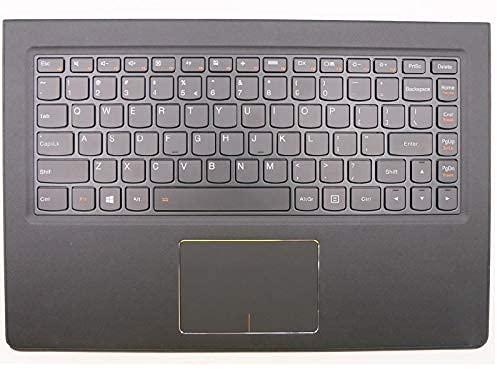 ZGQA-GQA Nuevo Teclado de Repuesto para computadora portátil Bisel Compatible con Lenovo Compatible con Ideapad Compatible con Yoga 900-13ISK 900-13 Inglés EE. UU. 5CB0K48472 Estuche superi