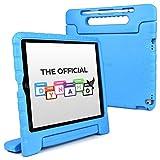 Cooper Dynamo [Custodia Rigida Cover] per iPad PRO 12,9 1a e 2a Generazione 2015 2017 | Case Tablet per Bambini Copertura Protettiva (Blu)