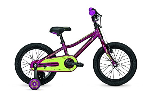 Univega Kinder Explorer 1.0 Kinderrad, Purple, 16 Zoll